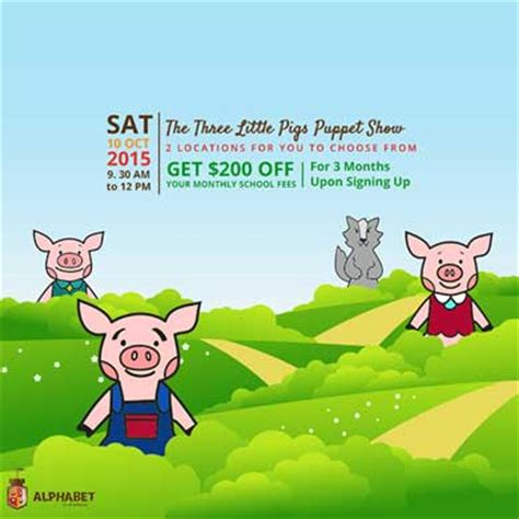 Story 1 The Three Little Pigs - Silvereye